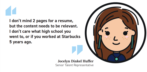 Jocelyn Resume Length